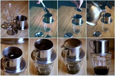 Các bước pha chế cafe phin thơm ngon đúng kiểu