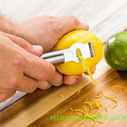 Channel Knife & Citrus Zester - Dao cắt sợi trang trí