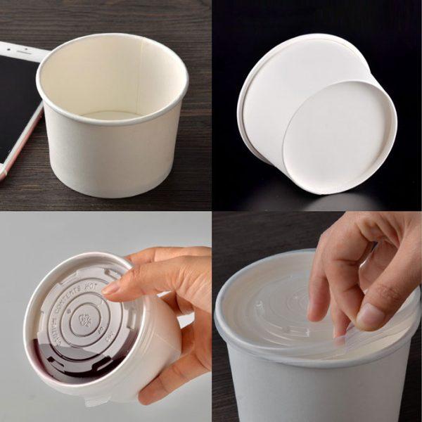 tô giấy đựng thực phẩm