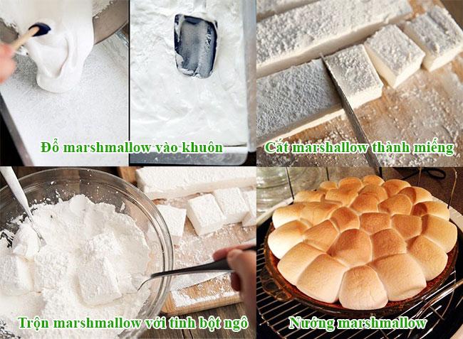 Cách làm marmallow